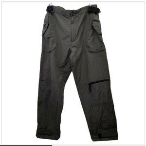 Utility 36 Light Weight Pants Green Hiking Pockets